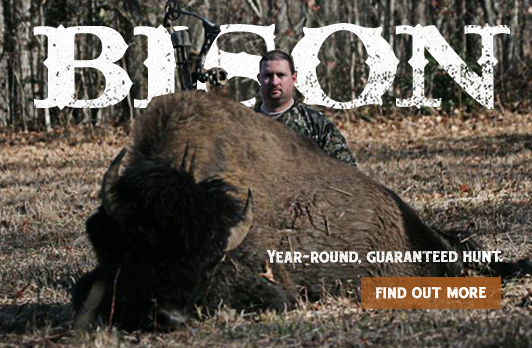 Year-Round. Guaranteed Hunt.